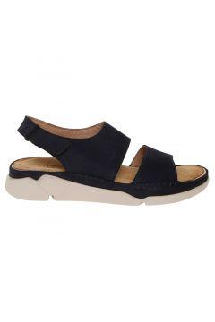 Penford Kadın Nubuk Lacivert Sandalet(113957444)