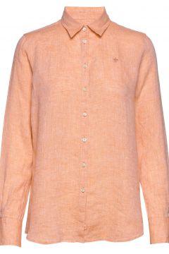 Kirsten Linen Shirt Langärmliges Hemd Orange MORRIS LADY(116950944)