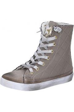Chaussures enfant 2 Stars sneakers beige textile daim AD888(115393790)