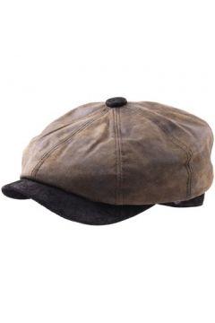 Casquette Dasmarca Béret casquette cuir imperméable Oliver olive(88689935)