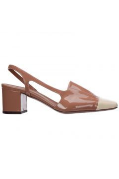 Women's leather pumps court shoes high heel(118301739)