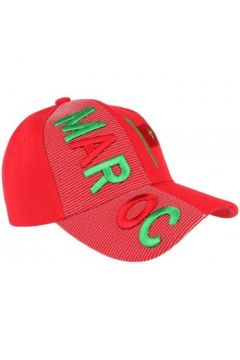 Casquette Pays Casquette Maroc rouge et verte drapeau marocain(115435319)