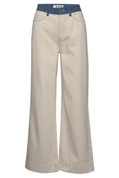 Sika Jeans Jeans Mit Schlag Beige JUST FEMALE(114801898)