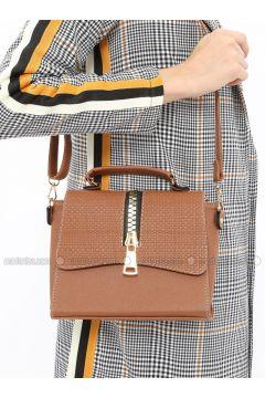 Tan - Shoulder Bags - ironstone(110321927)