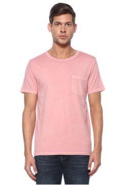 Tru Erkek Dyed Pembe Basic T-shirt S EU(118478282)