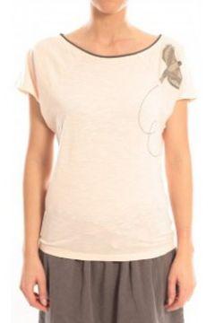 T-shirt Blune T-Shirt Libre Comme l\'Air LCL-TF02E13 Rose(98750982)