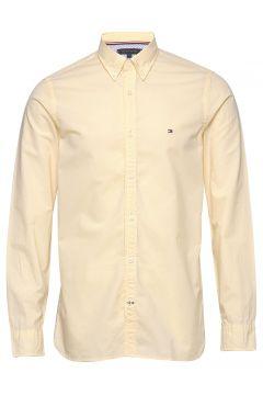 Slim Co/Li Puppytooth Shirt Hemd Casual Gelb TOMMY HILFIGER(111057429)