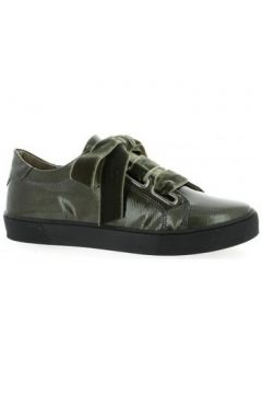 Chaussures So Send Baskets cuir vernis(115612337)