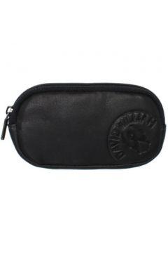 Trousse David William Porte-monnaie en cuir ref_lhc37144-noir(115555407)