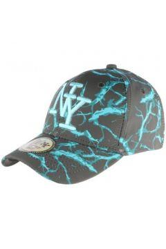 Casquette Hip Hop Honour Casquette NY Bleue et Grise Baseball Fashion Spyder(127943435)