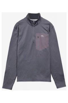 T-shirt Kjus Men Hydraulic Halfpzip Dark grey(115483639)