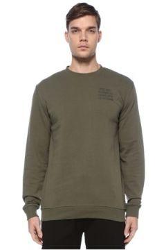 Herschel Erkek Training Uniform Yeşil Logolu Sweatshirt S EU(125149402)
