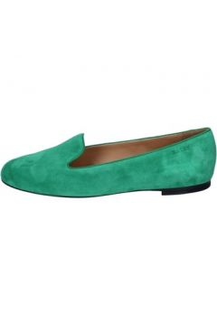 Chaussures Bally mocassins vert daim BY09(115400842)