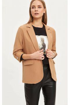 DeFacto Kadın Regular Fit Basic Blazer Ceket(108642408)