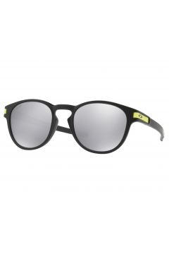 Oakley Latch Sonnenbrille - Matte Black ~ Chrome Iridium(108388372)