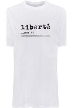T-shirt French Connection T-shirt à message manches courtes(115544799)