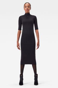 G-Star RAW Women Mock Slim Dress Black(122666472)