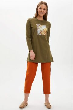 DeFacto Kadın Elastik Belli Havuç Pantolon(119058964)