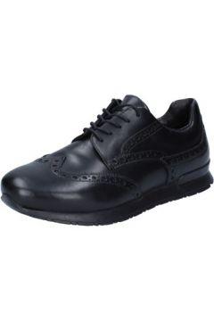 Chaussures Roberto Botticelli élégantes noir cuir BY651(115401377)