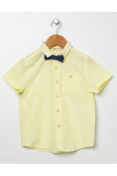 Koton Papyonlu Sarı Gömlek(113977908)