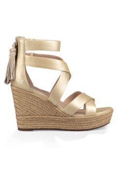 UGG SandalenRaquel Metallic Sandal aus Leder in Gold Größe 37.5(120878229)