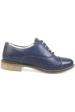 Chaussures Michel Batic élégantes bleu cuir ap915(115443193)