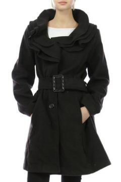 Manteau Cendriyon Manteaux Noir Vêtements Femme(115425457)
