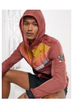 Nike Running Wild Run - Giacca sportiva rétro rossa-Rosso(121235457)