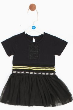 BG Baby Siyah Kız Bebek Elbise(114005708)