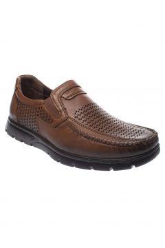 Forelli Hakiki Deri Taba Erkek Comfort Ayakkabı 32618(105225456)