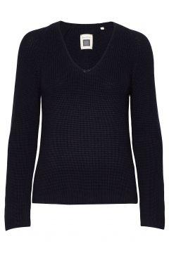 Pullover Long Sleeve Strickpullover Blau MARC O\'POLO(108013935)