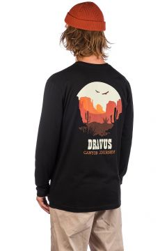 Dravus Canyon Journey Longsleeve T-Shirt zwart(100355051)