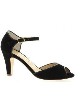 Chaussures escarpins Ambiance Escarpins cuir velours(127910299)