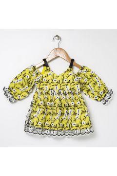 BG Baby Sarı Kız Bebek Elbise(114005706)