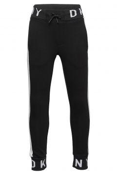 Jogging Bottoms Sweatpants Jogginghose Schwarz DKNY KIDS(109274199)