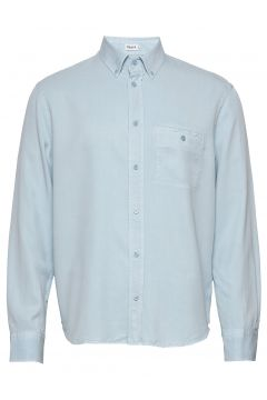M. Zachary Tencel Shirt Hemd Casual Blau FILIPPA K(116547427)