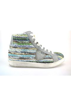Chaussures Crown sneakers multicolor textile cuir AG227(88469500)