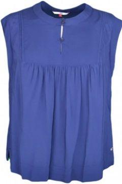 Blouses Tommy Jeans Blouse bleu marine pour femme(115511181)