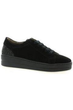 Chaussures So Send Baskets cuir velours(115613192)