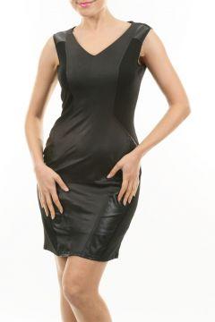 Caramel Siyah Elbise(113964722)