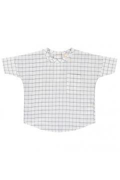 T-Shirt mit Tasche Karomuster(113867489)
