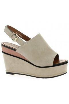 Sandales Elvio Zanon Nu pieds cuir velours(127909440)