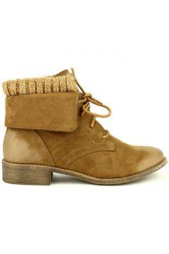 Bottes neige Cendriyon Bottines Caramel Chaussures Femme(115425862)