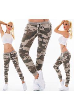 Sport Jogging Lange Hose im Camouflage Army-Look(93574064)