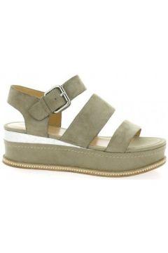 Sandales Adele Dezotti Nu pieds cuir velours sable(98530348)