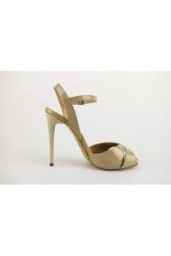 Sandales Del Gatto sandales beige cuir verni AG608(88469569)