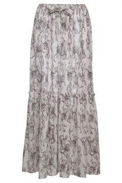 Wing Skirt Langes Kleid Beige BIRGITTE HERSKIND(114163608)