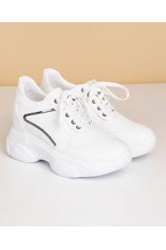 Pierre Cardin Kadın Günlük Spor Ayakkabı-Beyaz(119314726)