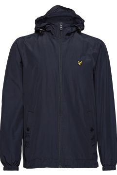 Zip Through Hooded Jacket Dünne Jacke Blau LYLE & SCOTT(114156065)