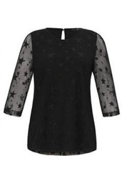 Shirt mit 3/4-Arm Emilia Lay schwarz(125095161)